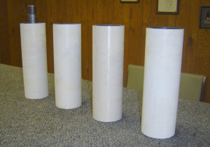 Ceramic rolls - reground and polished
