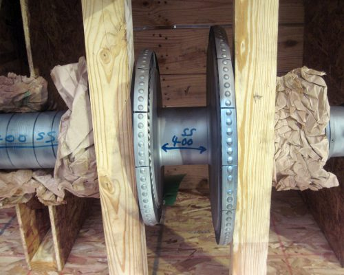 Energy 34-turbine shaft repair