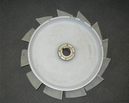 Fan blade reconditioned