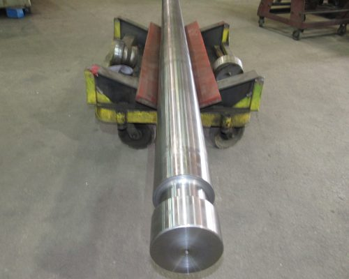 Finished repair of total shaft