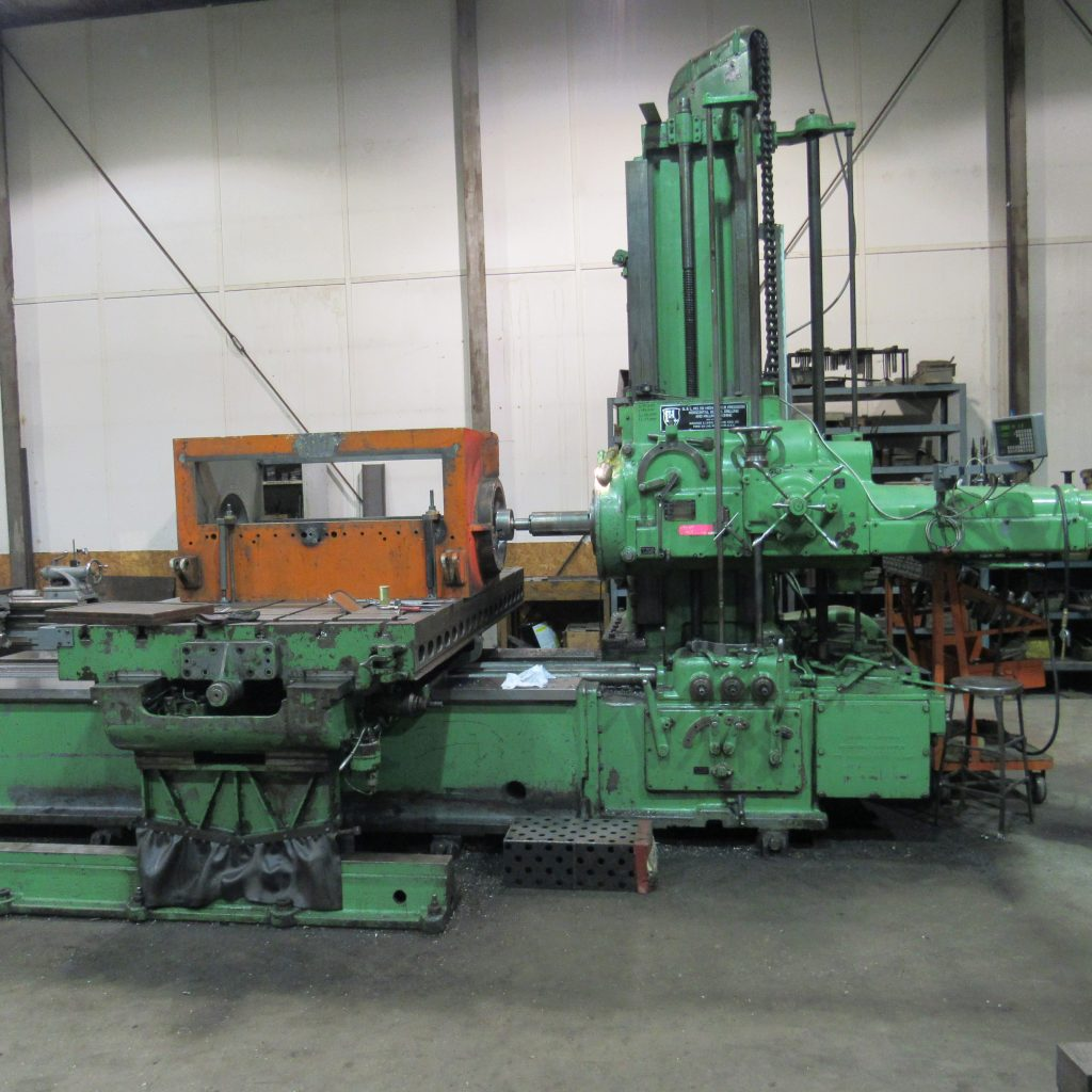 Horizontal Milling and Boring Machine - 8,000 lbs