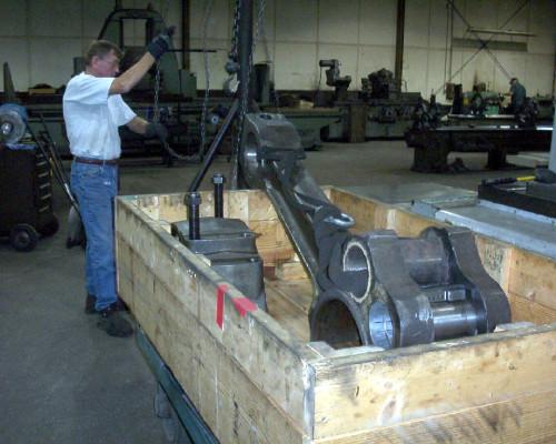 gas compressor connecting arm - rebuilt