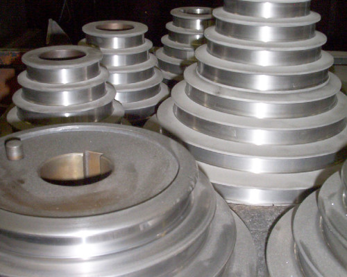 Steel step cones - manufactured and carbide coated
