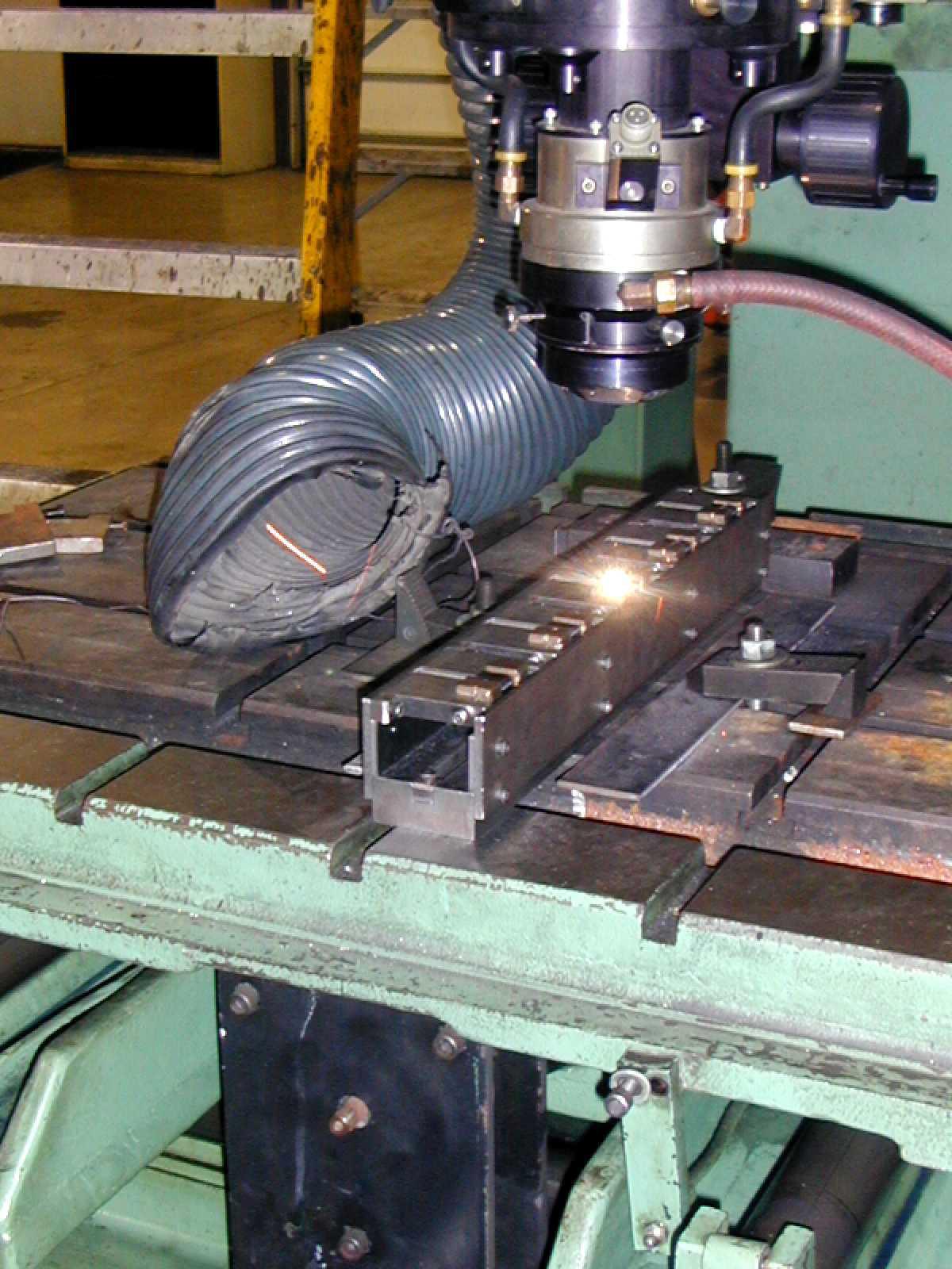 laser welding motor laminates