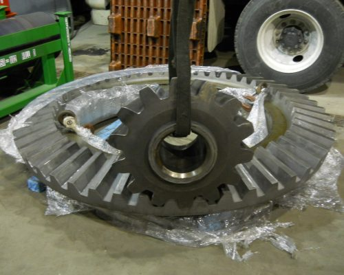 Clean Pinion Gear