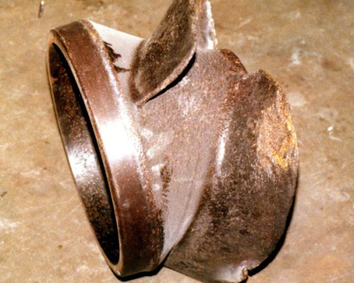 Pumps 05-worn impeller before