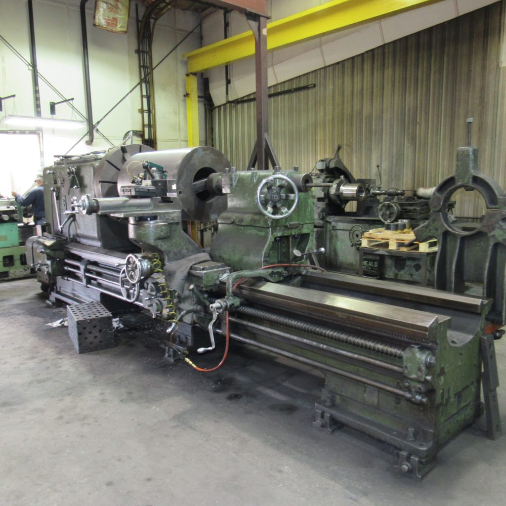 "Engine Lathe - 50"" x 14'"