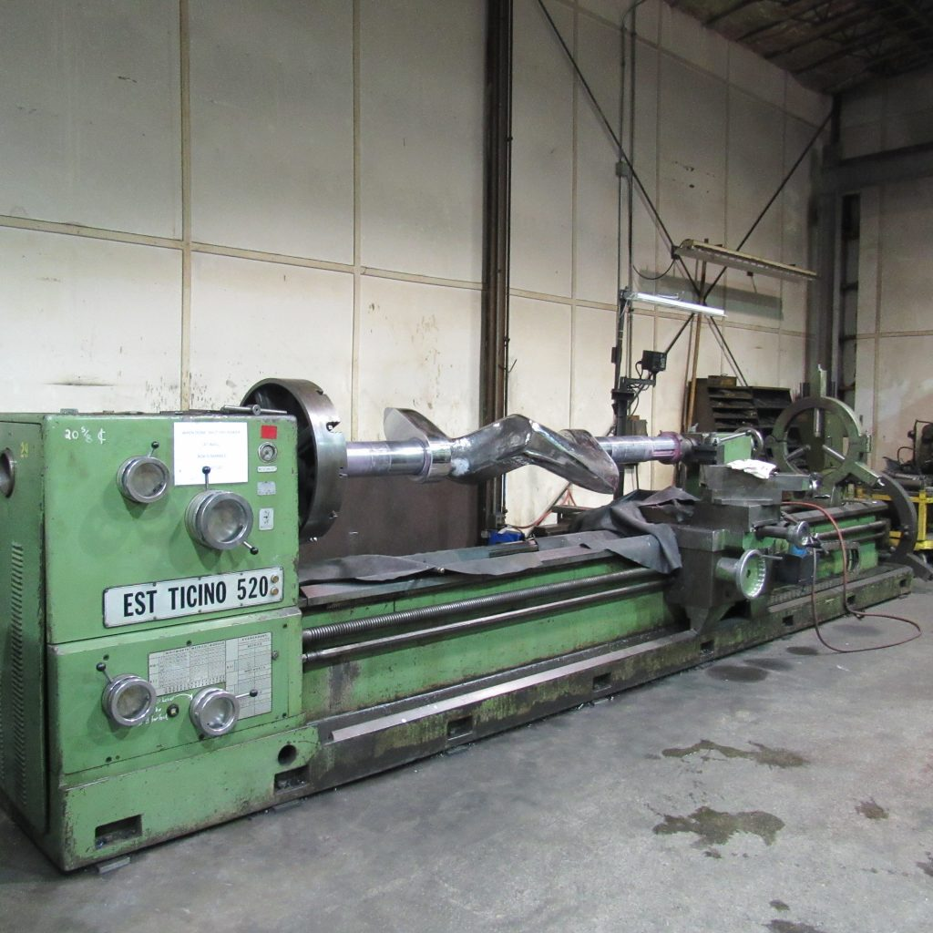 "Engine Lathe - 36"" x 18'"