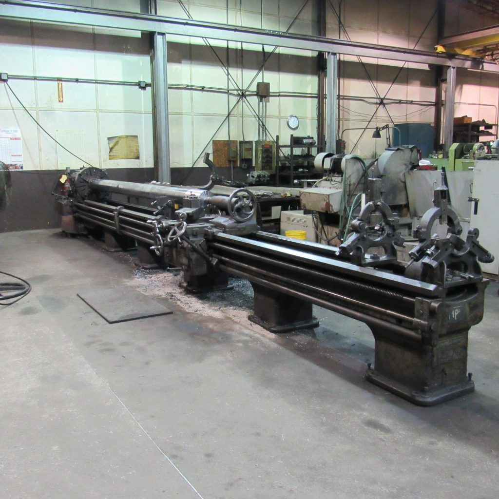 "Engine Lathe - 20"" x 24'"