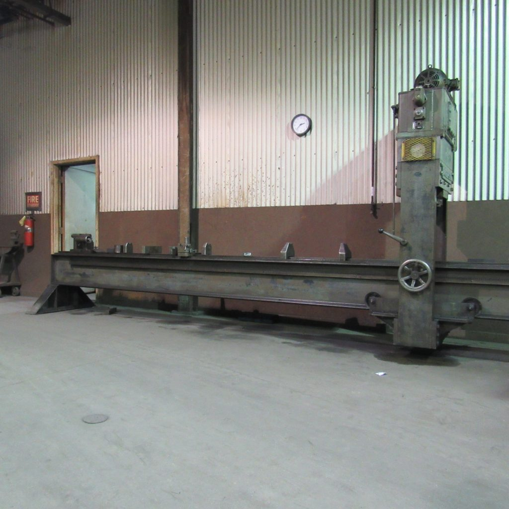 "Horizontal Straightening Press - 6"" inch diameter / 20ft long max"