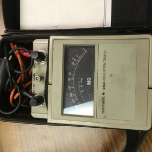 Instrument for checking voltage insulation values of coatings