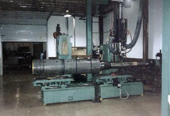 Steel 16-laser heat treat arbor OD taper