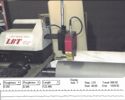 Laser Measuring - For roughness 60-3500 RA